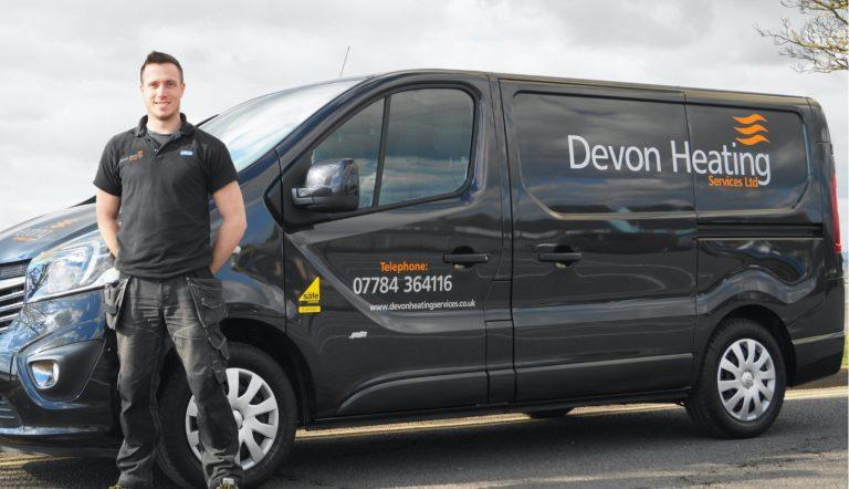 Devon Heating Van